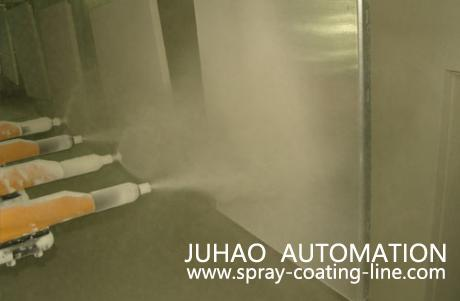 Automatic Powder Coating spray painting line